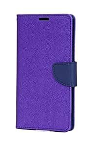 Friends Electronics Mercury Flip Cover / Flip Case for Micromax Canvas A102 - Purple
