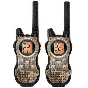 Motorola Mr355R 22 Channel 35 Mile Two-Way Radios