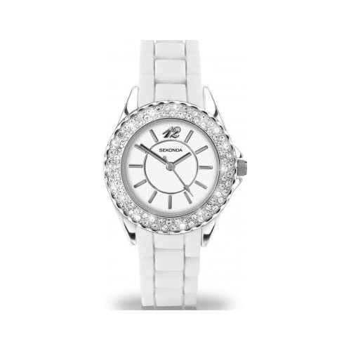 Party Time by Sekonda 4304.27 'Cloud' Ladies White Fashion Watch