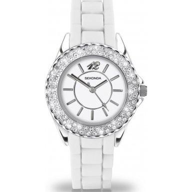 Party Time by Sekonda 4304.27 'Cloud' Ladies White Fashion Watch