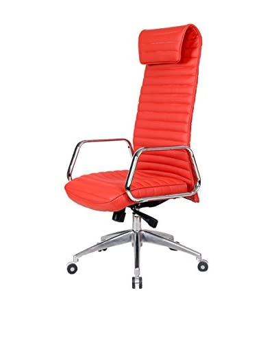MaxMod Ox Office Chair High Back, Red