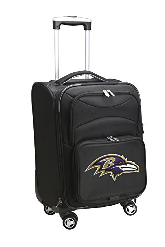 denco-sports-luggage-nfl-baltimore-ravens-5080-20-domestic-cm-a-forma-di-ruota-colore-nero