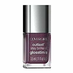 Covergirl Outlast Glosstinis Capitol Collection Nail Gloss 620 Pyro Pink