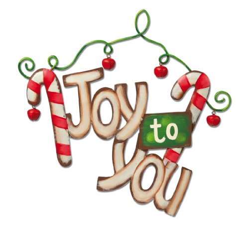 It's Christmas Time Joy to You Wall Decor