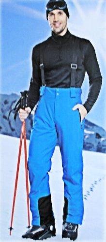 CRIVIT Herren Skihose mit Hosenträgern, hochfunktionell, Blau günstig bestellen