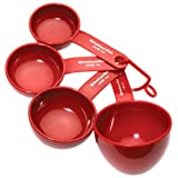 Kitchenaid Classic Set Of 4 Measuring Cups Red