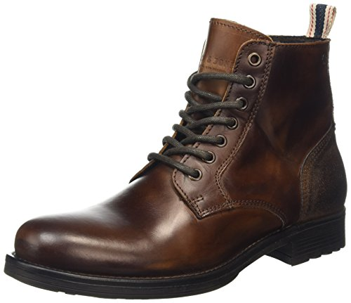 Jack & Jones Herren Sting Kurzschaft Stiefel, Brown (Friar Brown), 42 EU (8 UK)