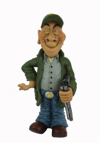 Hi Line Gift Warren Stratford Occupations Collectible Figurine, 10-Inch, Duck Hunter