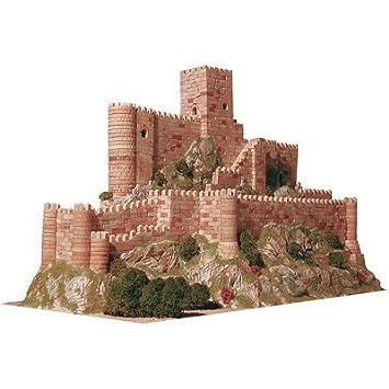 Maquette en céramique - Château de Almansa, Espagne
