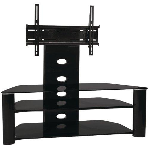 buy low price techcraft mc3032b 36 inch wide tv stand black mc3032b. Black Bedroom Furniture Sets. Home Design Ideas