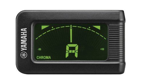 Yamaha YTC5 - Accordatore cromatico a clip, per chitarra, basso, ukulele