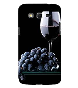 Grapes and Wine 3D Hard Polycarbonate Designer Back Case Cover for Samsung Galaxy Grand I9082 :: Samsung Galaxy Grand Z I9082Z