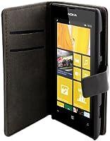 Muvit MUSLI0377 Etui folio pour Nokia Lumia 625 Noir