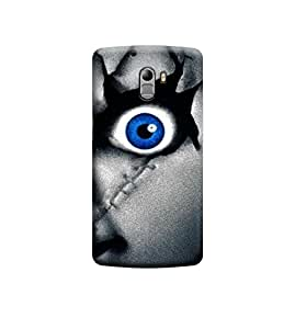 Ebby Premium Printed Back Case Cover With Full protection For Lenovo K4 Note / A7010 (Designer Case)