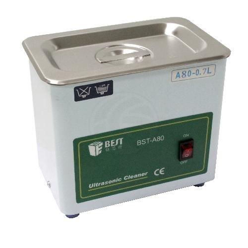 Cablematic - Le nettoyage ultrasonique 50W 40 KHz MEILLEUR 0.7L modèle A80