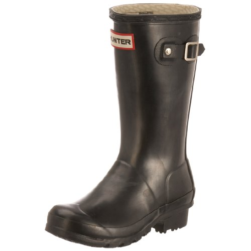 Hunter Junior Young Hunter Original Wellies Black W23500 8 Child UK