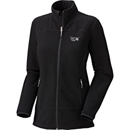 Mountain Hardwear Toasty Tweed Fleece Jacket, Black, X-Large