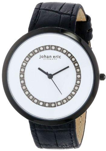 Johan Eric JE5002-13-007 - Reloj de pulsera mujer, piel, color negro