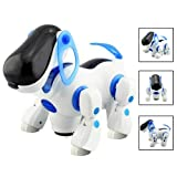 SODIAL(R) Robotic Interactive Pet Dog Walking Bump Go Puppy Kids Toy Children