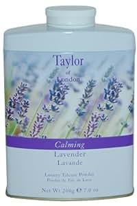 Taylor of London Calming Lavender Luxury Talcum Powder 7.0 Oz