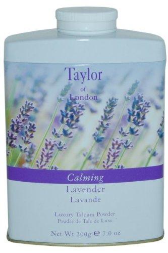 Taylor of London Taylor of London Calming Lavender Luxury Talcum Powder 7.0 Oz