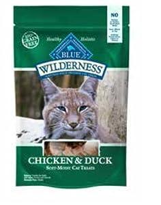 Blue Buffalo Wilderness Cat Treats-Chicken/Duck (Pack of 3)
