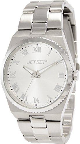 Jet Set 15221 J61104-622 - Orologio da polso da donna, cinturino in acciaio inox colore argento