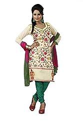 Khazana Women's Chanderi Unstitched Dress Material (khazana-75-ch-07_Multi_Free Size)