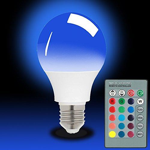 Magicmoon E27 15W RGB LED Lampadina 16 Colori Mutevole Dimmerabile Multi Color Luce a LED con Telecomando IR 360 ° del Fascio Angolo Lampada a LED 85-265V per la Decorazione Domestica / Bar / Partito / KTV Mood Lighting