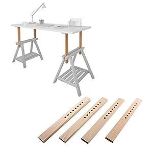 DIY Standing Desk Kit - The Adjustable Hight Standing Desk / Stand-Up Desk Conversion Kit
