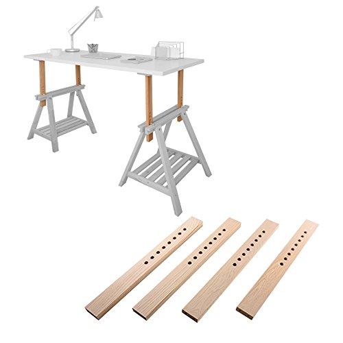 DIY-Standing-Desk-Kit-Do-It-Yourself-Umbausatz-fr-Stehschreibtisch-Stehtisch-Stehpult