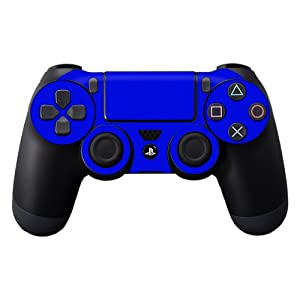 Protective Vinyl Skin Decal Cover for Sony PlayStation DualShock 4 Controller Sticker Skins Glossy Blue