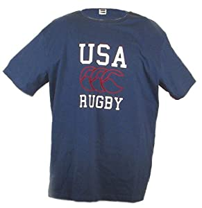 USA Rugby SS T-Shirt (White) NAVY
