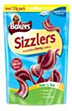 Bakers Sizzlers Bacon Flavour 120g (Bulk deal of 6) 720g