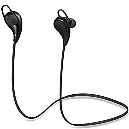 Cablex S330 Bluetooth Headphones V4.1 Wireless Sport Stereo In-Ear Noise Cancelling Sweatproof Headset Earbuds Earphones With Mic for Running Gym Exercise for iPhone iPad iPod Samsung S6 S5 Android