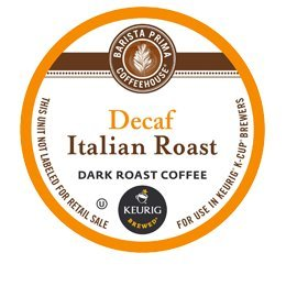 BARISTA PRIMA DECAF ITALIAN ROAST K CUP COFFEE 72 COUNT