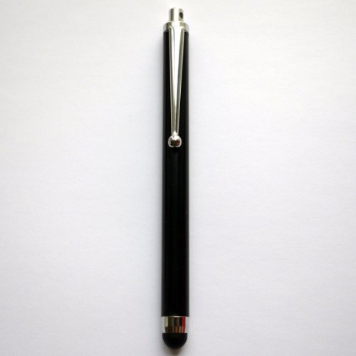 iPhone4S/iPad3/iPad2/Galaxy Tab/スマートフォン対応 タッチペン (ブラック)