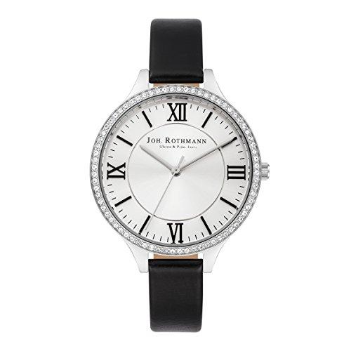 Joh. Rothmann Women's Watch Siggy stainless steel SWAROVSKI ELEMENTS S BLK 10030044