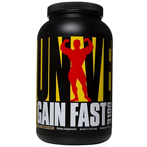 Universal Nutrition Gain Fast 3100, Cookies and Cream, 1er Pack (1 x 2.3 kg)