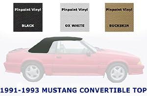 Mustang Convertible Top and Vinyl Window   1991-1993   OEM Buckskin Vinyl   Install Video