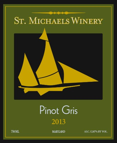 2013 St. Michaels Pinot Gris 750 Ml