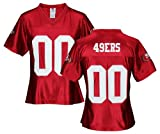San Francisco 49ers NFL Womens Team Dazzle Jersey, Red