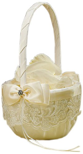 Beverly-Clark-French-Lace-Flower-Girl-Basket-Ivory