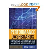 img - for Wayne W. Eckerson'sperformance Dashboards: Measuring, Monitoring, and Managing Your Business [Hardcover](2010) book / textbook / text book