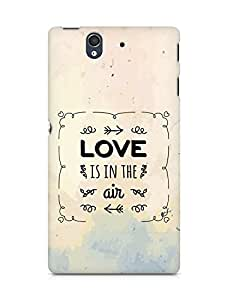 Amez Love is in the Air Back Cover For Sony Xperia Z