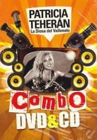 """PATRICIA TEHERAN """"LA DIOSA DEL VALLENATO"""" (DVD + CD)"""