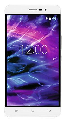 MEDION S5504 Smartphone (13,97 cm (5.5 Zoll) HD Touchscreen-Display, LTE, 13 Megapixel Rückkamera, 8 Megapixel Frontkamera , Octa-Core-Prozessor, Dual-SIM, 32 GB , Android Lollipop 5.1) weiß