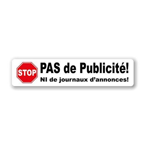 1-x-autocollant-stickers-blanc-pas-de-publicite-stop-pub-boite-aux-lettres-la-poste-anti-spam