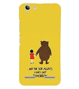 EPICCASE Bear with me case Mobile Back Case Cover For Lenovo Vibe K5 Plus (Designer Case)