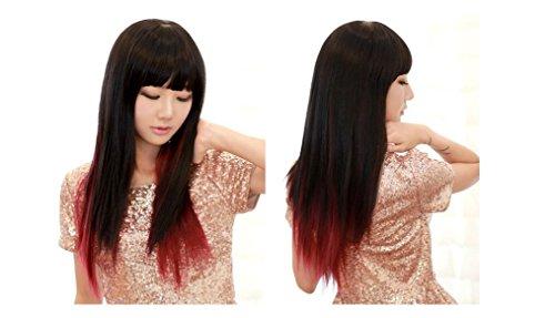 xqxhair-66-centimetri-230g-pc-lungo-rettilineo-anime-cosplay-signore-ombre-capelli-neri-vino-rosso-c